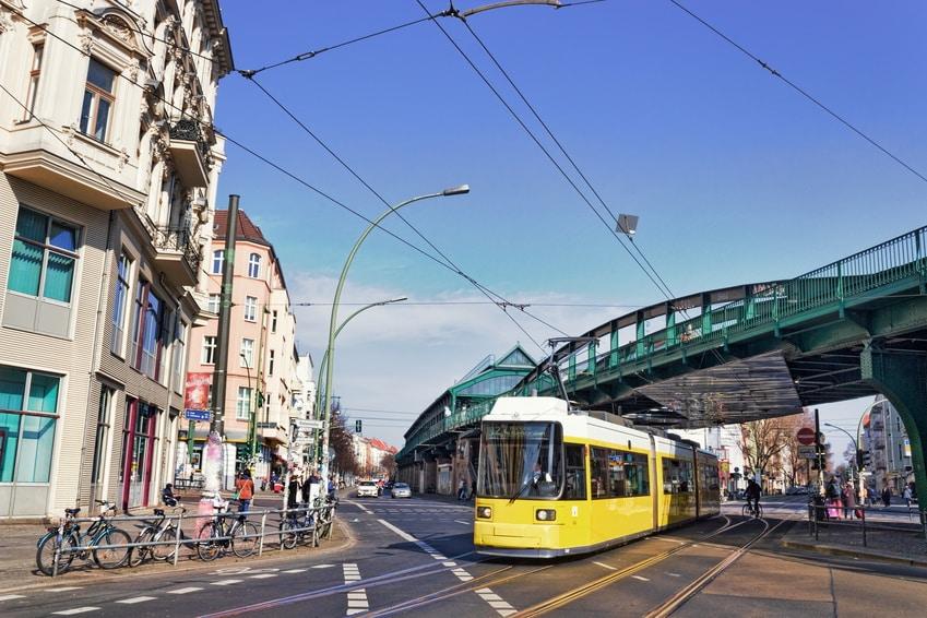 Berlin Prenzlauer Berg traffic