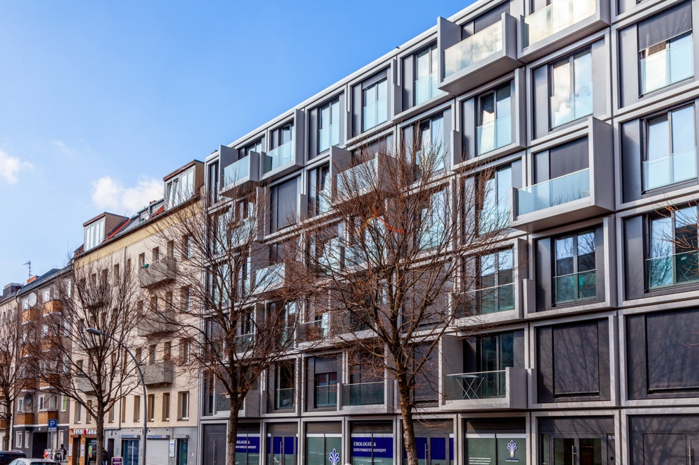 New property development in Berlin with buy-to-let investment apartments