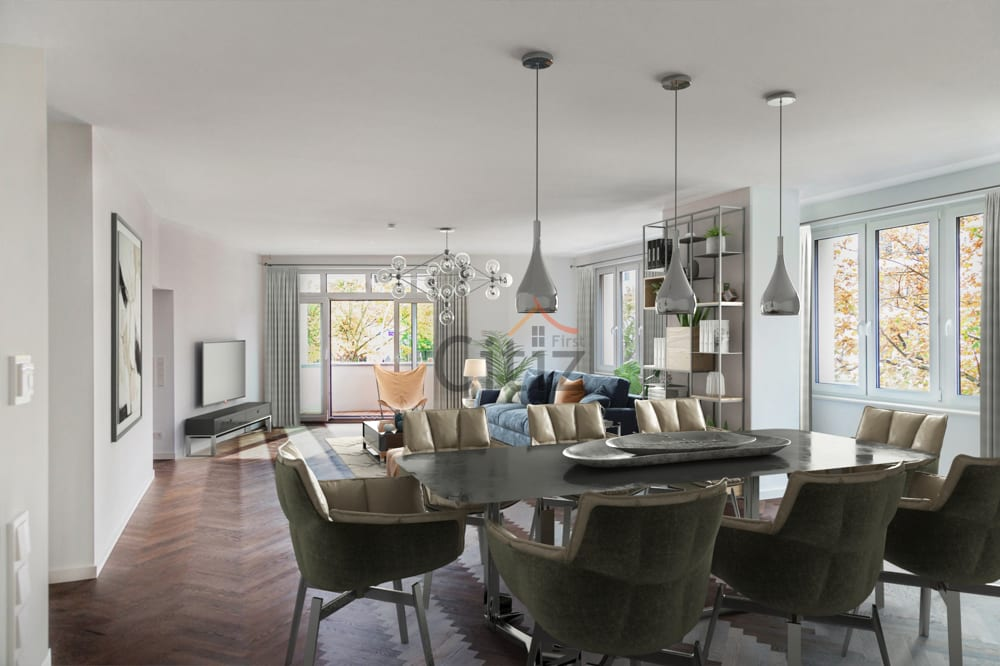 The interior design of an apartment has a positive impact on the property valuation in Berlin